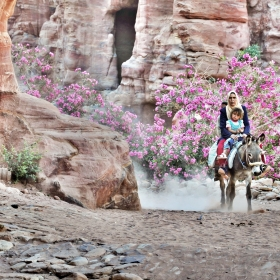 Beduini - Petra - Iordania