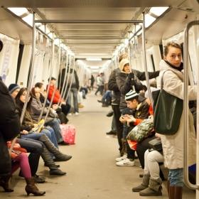 Cu metroul prin Bucuresti