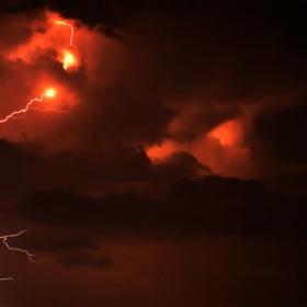 Fulgerele ca semn al zeului Thor
