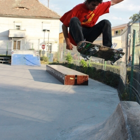 In air