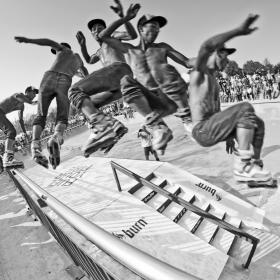 Inline skating final - Street Heroes 2012