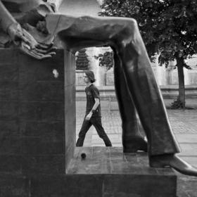"""La picioarele """"Sfinxului""""..."""