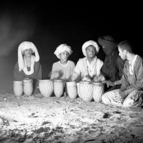 Nomad - Berberi in desert