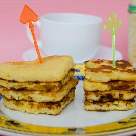 Ricotta apple pancakes