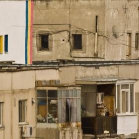 Romania pe blocuri