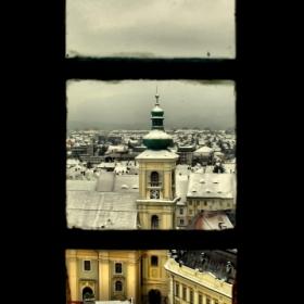 Sibiul de pe fereastra...