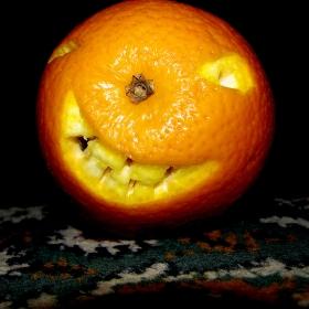 spooky orange