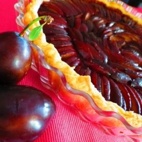 Tarta de prune.
