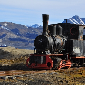 Trenul din Ny Alesund