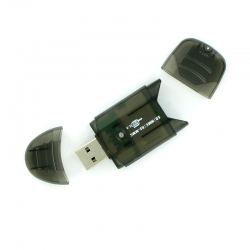 4world Card Reader - Flash Drive  Sd / Mini Sd / Mmc / Rs-mmc / T-flash Usb 2.0