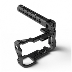 8sinn Cage + Top Handle Basic + Universal Rod Support - Carcasa + Maner + Suport Sine Pentru Sony A6000/ A6300