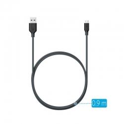 Anker - Cablu Powerline Micro Usb 0 9 Metri Negru