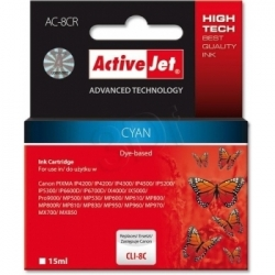Activejet Replace Canon Cli-8c (15ml) - Pixma Pro9000