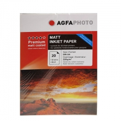 AgfaPhoto Premium Double Side Matte Coated A4 20coli