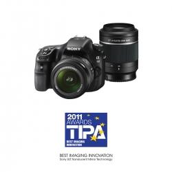 Aparat foto Sony SLT-A58 kit 18-55mm SAM + 55-200 SAM II