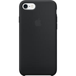 Apple Capac Spate Silicon Pentru Iphone 7  Negru