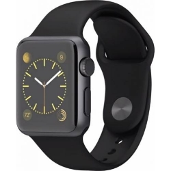 Apple Sport Watch 38 Mm Carcasa Aluminiu Neagra Si