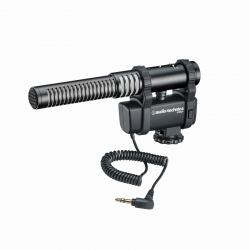 Audio-technica At8024 - Microfon Stereo De Camera Cu Jack 3.5mm