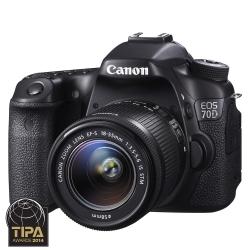 Canon Eos 70d Kit Obiectiv Ef-s 18-55mm F/3.5-5.6