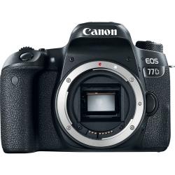 Canon Eos 77d Body  Negru