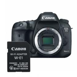 Canon Eos 7d Mark Ii Body + Adaptor Wi-fi Canon W-