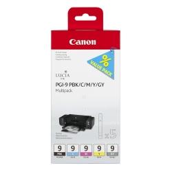Canon Pgi-9 Multipack 1 - Set 5 Cartuse Pbk/c/m/y/gy - Pixma Pro 9500