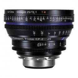 Carl Zeiss Cp.2 2.1/25 T* - Montura Canon Ef Metri