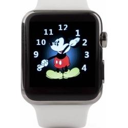 Cronos Leader - Smartwatch  Carcasa Gri  Curea Alb