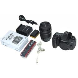 Demo Canon EOS 70D + EF-S 18-135 STM cu WiFi