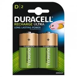Duracell - Acumulatori D  2200mah  2 Buc.
