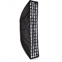 Dynaphos Softbox Pliabil Cu Grid 30x150cm - Bowens