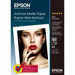 Epson Archival Matte Photo A3 - 50 Coli - 192g/mp