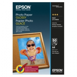 Epson Photo Paper Glossy C13s042539 A4  50 Coli  2