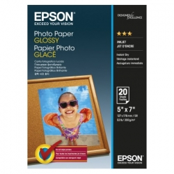 Epson Photo Paper Glossy C13s042544 13x18cm  20 Coli  200g
