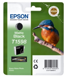 Epson R2000 - T1598 - Cartus Matte Black - Rs1042036