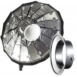 Fancier Octobox 80cm Cu 16 Spite Bowens - Argintiu