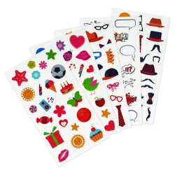 Fujifilm Instax Fun Sticker 110 Pack - Set Creativ