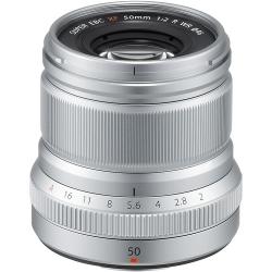 Fujifilm Xf 50mm F/2 R Wr - Argintiu