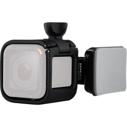 Gopro Low Profile Helmet Swivel Mount - Sistem Prindere Casca Pentru Hero Session