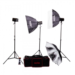 Godox Mini Pioneer 120 Kit - Set Complet 3 Blituri