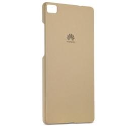 Huawei P8 Lite - Capac Protectie Spate  Kaki (auri