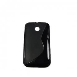 Husa Poliuretan Motorola Moto E Negru