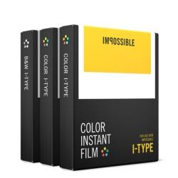 Impossible Film Pachet Triplu Pentru Polaroid I-ty