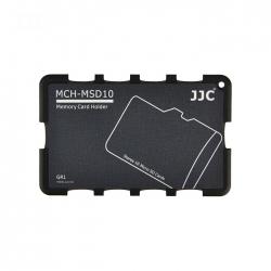 Jjc - Cutie Pentru Carduri De Memorie Micro Sd  10