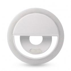 Kast Led Selfie Ring Light Pentru Smartphone  Alb