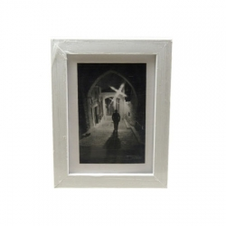 Kathay Photo Frame Solid Color White 10x15