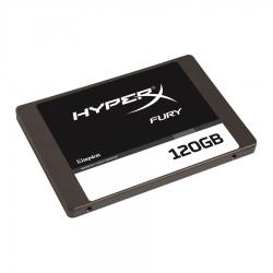 Kingston 120gb Hyperx Fury - Ssd Intern  2.5  Sata