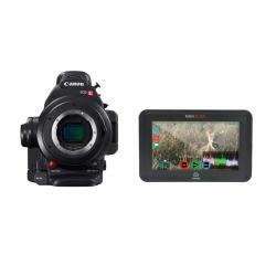 Kit Canon Eos C100 Mark Ii + Monitor Atomos Ninja