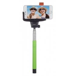 Kitvision Btssphgn - Selfie Stick Extensibil Cu Control Actionare Shutter Pe Bluetooth Si Suport De Telefon  Verde