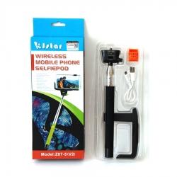 Kjstar Wireless Mobile Selfiepod - Selfie Stick Negru